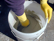 Mixing Bustar Expansive Grout