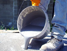 Pouring Bustar Expansive Grout